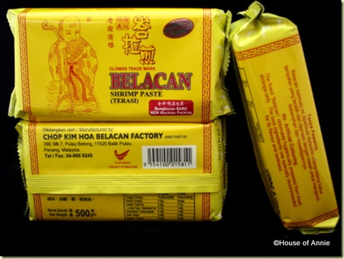 belacan blocks