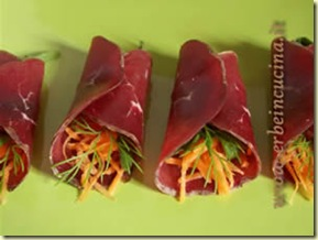 erbe in cucina bresaola roll-ups