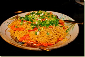 Playing with Food  Maple Sesame noodles