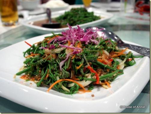 midin salad rock road seafood