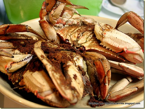 Steamed Dungeness Crabs with Old Bay Seasoning