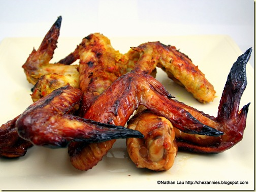 Malaysian Barbecued Chicken Wings and Fragrant Chicken Wings