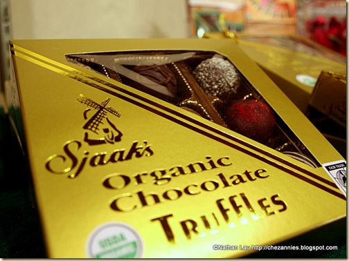 Sjaak's Organic Chocolate Truffles