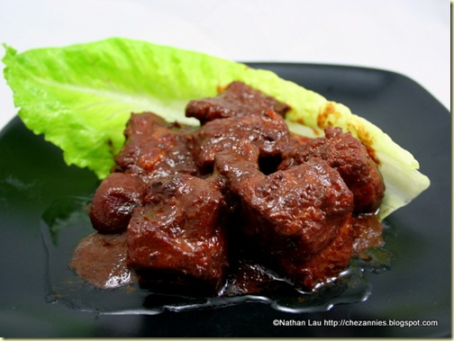 Pork Riblets Braised with Fermented Red Bean Curd