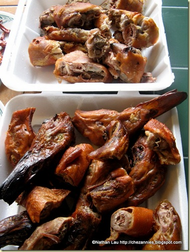 Pigs&#39; Feet and Duck Heads