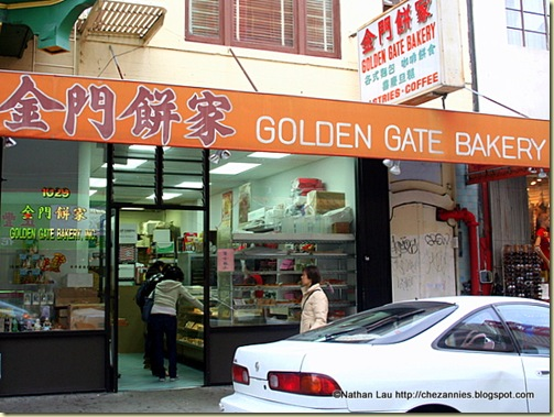 Golden Gate Bakery in San Francisco