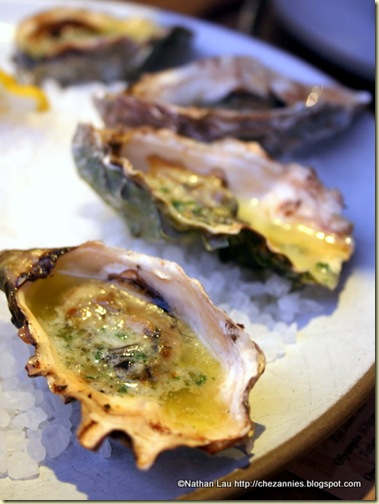 Baked Oysters from Hog Island Oysters (San Francisco)