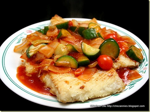 Sweet and Sour Fried Fish