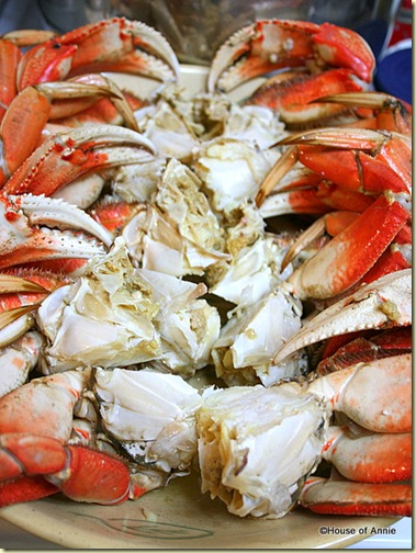 Dungeness Crab Sections for Cioppino