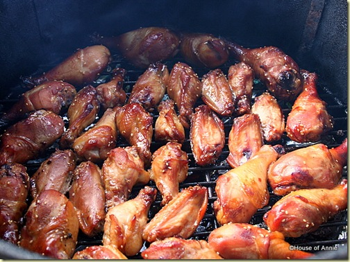 Smoking Shoyu Chicken on the WSM
