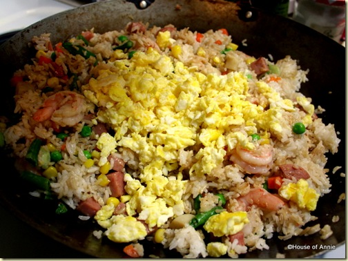Adding Fried Eggs Back to Spam Fried Rice
