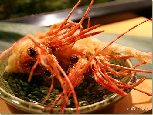 Deep Fried Shrimp Heads at Sakae Sushi in Burlingame
