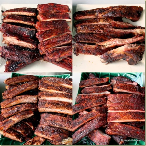 Grilled, Texas Smokehouse, Baked and Smoked Ribs