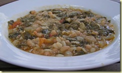 GYO 27 White Bean and Kale Soup Eat Seasonally Tamra Stallings