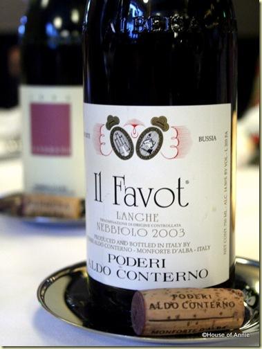 2003 Aldo Conterno Nebbiolo Langhe Il Favot