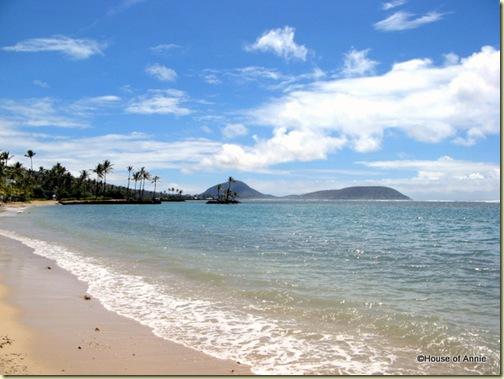 Kahala Beach, O'ahu, Hawai'i