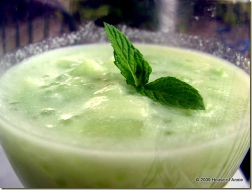 honeydew sago