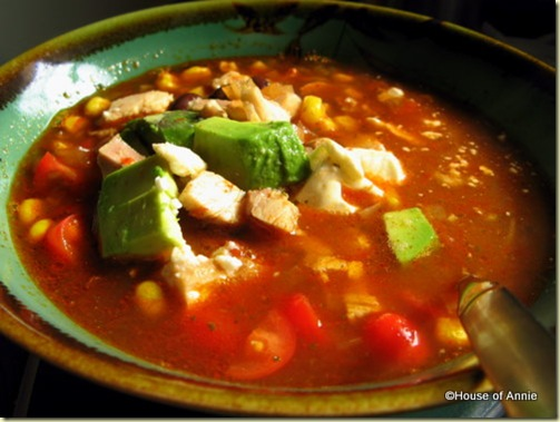 Turkey Tortilla Soup 2