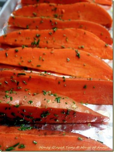 honey-glazed yams sweet potatoes