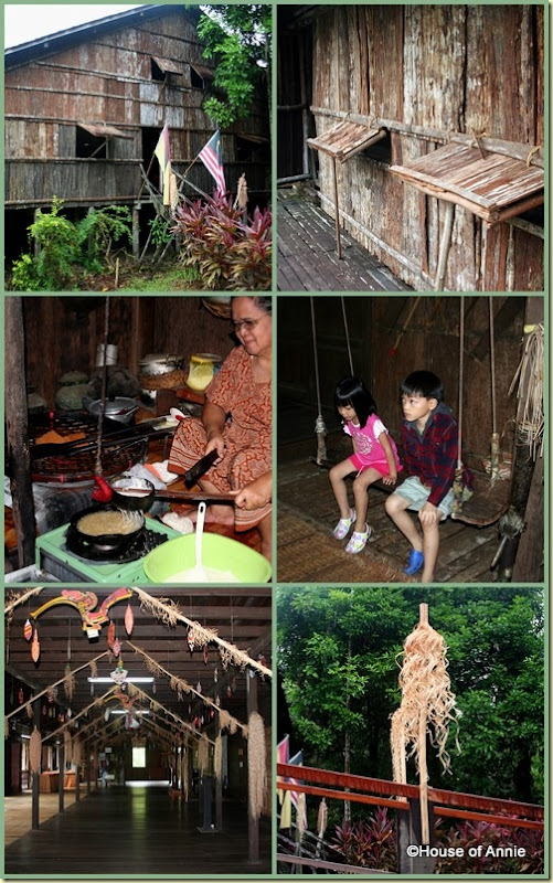 Sarawak Cultural Village Iban house