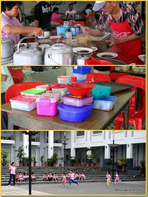Liang Yew Cafe Sibu takeaway kampua mee