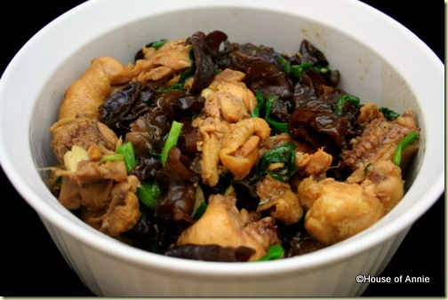Chicken with Black Fungus
