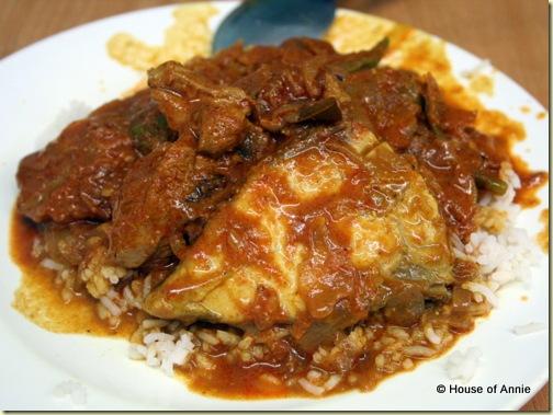 Nasi Kandar Kampung Melayu Fish Curry