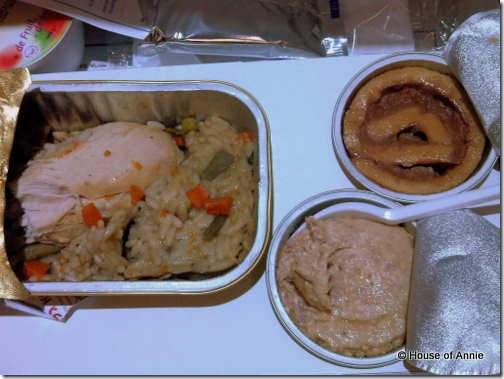 China Airlines KUL to Taipei Kosher Meal