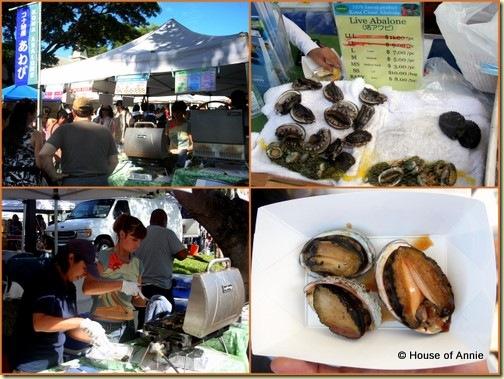 KCC Farmers Market Kona Coast Abalone