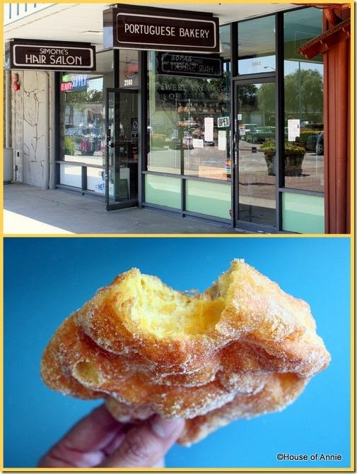 Portuguese Bakery Santa Clara malasada filho