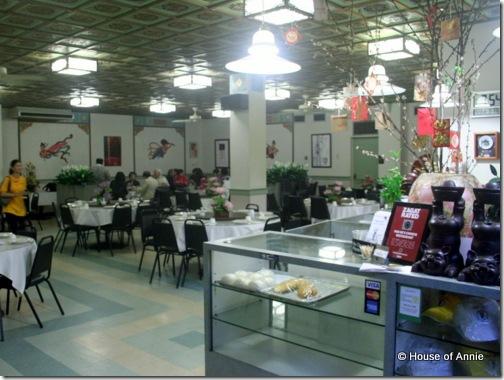 Pah Ke's Chinese Restaurant Interior