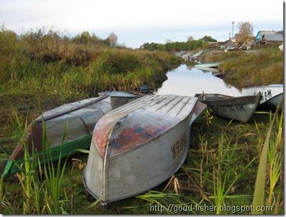 железная и деревянная лодки