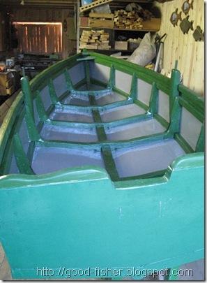 лодка под покраску