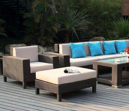 Le mobilier de jardin salle manger salon de jardin chauffage de terrass - Acheter mobilier de jardin ...