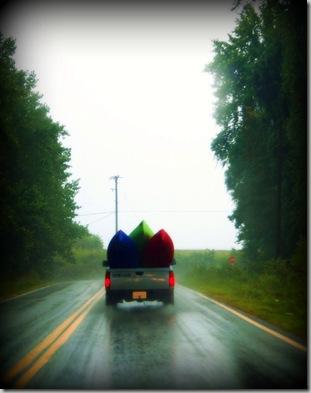 canoe truck