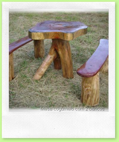 Mesa cogumelo