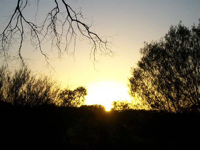 Sunrise on the Outback
