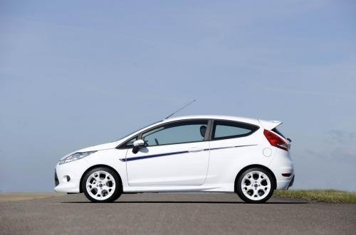 The sports version of hatchback Fiesta S1600