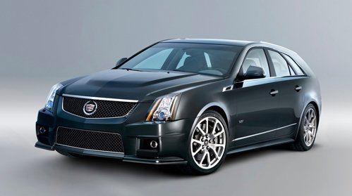 Company Cadillac has presented CTS-V Sport