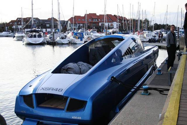 Powerboat Water