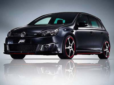 Studio Abt has presented tuning packages for VW Golf GTI