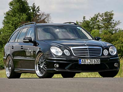 Studio Väth has finished an old E-class last time
