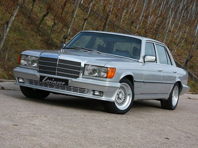 Tuners Lorinser have finished Mercedes 450 SEL 6.9 1975 years