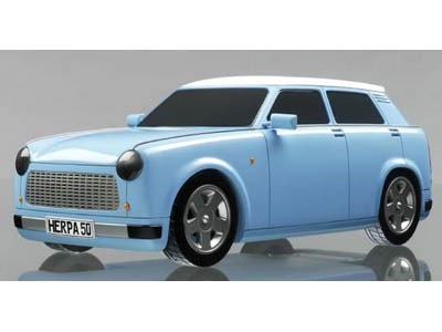 In Frankfurt will show Trabant with the electromotor