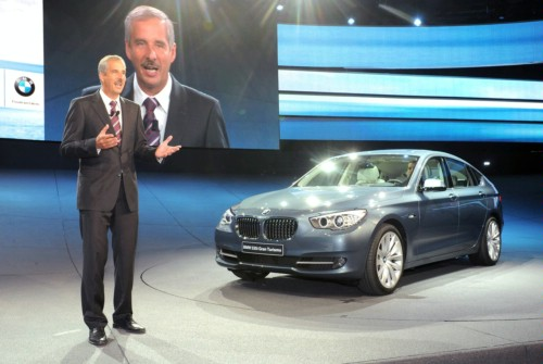 BMW has presented a serial copy of 5th series GT
