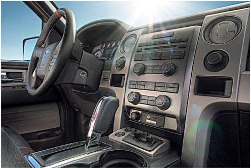 Interior Ford pickup