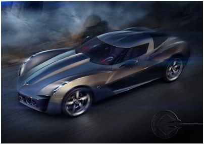 GM has presented official concept of a new Corvette Stingray