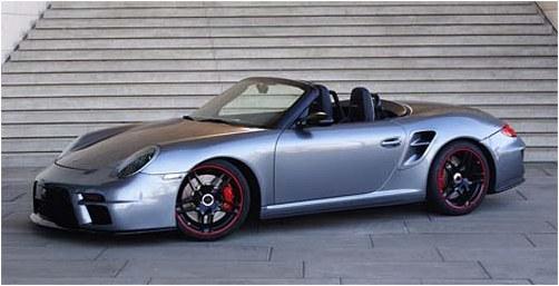 Cabriolet Porsche Turbo