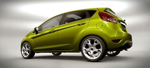 New hatchback Ford Fiesta