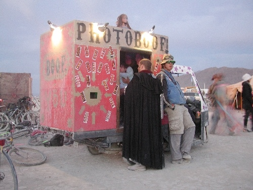 Photo Boof Art Car at Burning Man